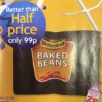99p for a 4pack Branston Baked Beans @ Nisa