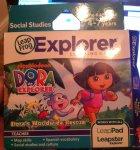 Leap Frog Explorer - Dora the Exlorer Game 1p @ Tesco