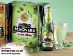 6x568ML MAGNERS PEAR&ORIGINAL CIDER £6.99 @ ALDI from thursday 13th