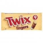 Twix 9 Fingers (23g x 9) £1.00 @ Asda & Sainsburys