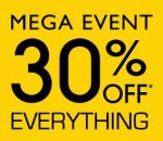 MEGA EVENT - 30% off Everything + Free UK Delivery on Furniture for 5 Days Only @ Laura Ashley