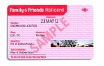 family and friends railcard even if your children are under 5 £30