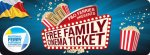 Free Family Cinema Ticket when booking a long break @ P&O Ferries