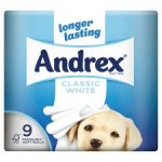 Andrex 45 rolls at £0.38 each - £17.50 delivered @  Amazon