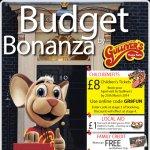 Gullivers world kids ticket £8 budget bonanza