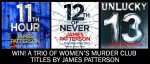 Win A Trio of Titles by James Patterson @ Random House