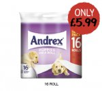 Andrex Puppies on a Roll (16 Pack) £5.99 @ Costcutter