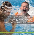 FREE 14 day family experience at David Lloyd Health club (2 adults & all the kids)