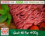 400g lean steak mince £1 @ Westin Gourmet