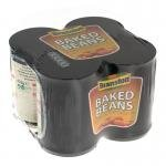 branston baked beans 4  tins pack only 99p at nisa local stores