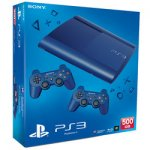 PS3 500GB Azure Blue ConsoleWith 2 pads - £179.99 @ Toys R Us (Instore)