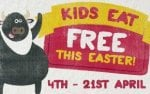 Kids Eat Free this Easter when you spend a minimum of £10 on food per adult at La Tasca