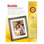 Kodak gold ultra glossy 7x5 photo paper 20 sheets £2.39 in store in Sainsburys (normally £7.99)