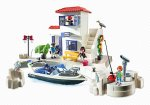 Harbor Police Station with Speedboat on the Playmobil site - £20