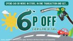 6p off every litre of fuel based on £40 spend @ Morrisons (starts today)