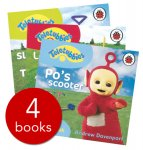 4 teletubbies board books 99p + free delivery using code FLOWERS @ The Book People