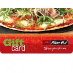£20 pizza hut gift card selling for £12 free p&p
