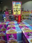 Whiskas Fishermans Choice Cat food 24 pack - £5 @ Jolleys Pet Superstores & possible free Whiskas Ceramic cat bowl