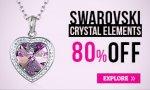 Swarovski Elements Jewellery - 80% off @ Warren James