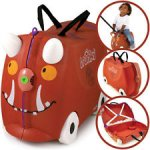 Trunki Ride-on Suitcase - Limited Edition Gruffalo (Brown) £28.49 @ Amazon daily deal