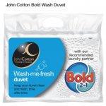 John Cotton Bold Duvet 4.5 Tog - Double £8 King £10 @ Tesco Direct