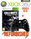 DOUBLE DEAL CoD: Ghosts & Xbox 360 Wireless Controller REFURBISHED. £24.99 @ sweetbuzzards