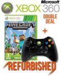 Double deal minecraft and xbox 360 controller £20.99 @ sweetbuzzards