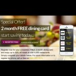 2 month free dining card @ Gourmet Society