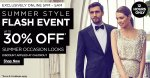 Up to 30% off in House of Fraser 12 hour Summer Style Flash Event! Online Exclusive!