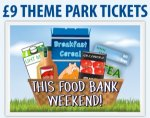 Gullivers Land Food Bank Weekend £9
