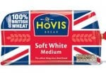 Hovis Soft White & Wholemeal Bread 800g only 79p at LIDL