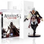 Assassin's Creed II WHITE EDITION (includes Ezio Auditore Figurine) - PS3 / XBOX 360 - LIMITED EDITION @ The Game Collection. New - £41.95