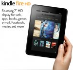Kindle Fire HD Tablet [2012] 16GB £99 32GB £119 @ Amazon