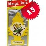 Magic Tree 5 pack Vanillaroma £3.41 - Amazon and sold by Electro World.