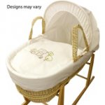 Kinder Valley Tiny Teds Moses Basket with mattress just £16.00 click & collect @ Asda Direct