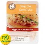 Morrisons Wafer Thin Honey Roast Ham, Cooked Ham, Thin Smoked Ham, Thin Roast Chicken was £2.50 now £1.69 each @ Morrisons