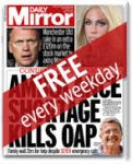 Daily Mirror newspaper free weekdays only on itunes
