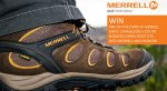 Win one of five pairs of Merrell Men's Chameleon 5 GTX or Women's Siren Sport GTX with Merrell and Gaynors.