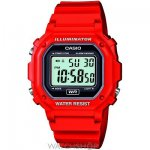 Men's Casio Alarm Chronograph Watch [Red] £5.00 instore @ Boyes