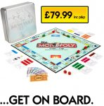 Design your own official monopoly board £79.99 @ MyMonopoly