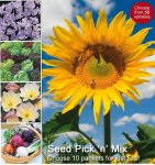 10 Packets Thompson & Morgan Veg or Flower Seed for £10.00