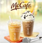 Free Iced Smoothie or Iced Frappe using McDonalds app