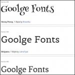 Free Beautiful Fonts For Use With Google Drive or on your website