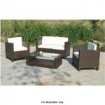 Venice 4 piece rattan effect sofa set for £199.99 @ b&m retail