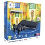 PS3 12GB Console with FIFA World Cup and 2x Dual Shock 3 controllers for £130 using code TDX-LVY3 @ Tesco Direct