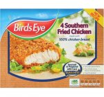 Birds Eye Southern Fried Chicken Made With 100% Chicken Breast (4 Pack) 360g - £1.62 (Half Price) @ Tesco...