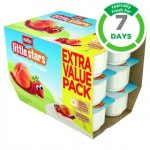 18 x Muller Little Stars Fromage Frais Pots, only £2 at Asda (online and instore)
