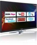 Finlux 40'' Smart LED TV Web Browsing Netflix Skype Freeview HD PVR (40F8073-T) - £249.99 - eBay & Finlux Direct