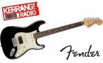 Win a Fender Deluxe Lone Star Stratocaster in black @ Kerrang Radio