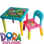 Dora the Explorer table and chair set - £12.99 @ Home Bargains